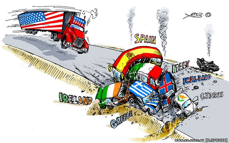 СТРАНЫ БАНКРОТЫ / финансовый кризис в сша / country bankrupt and the financial crisis in the United States / карикатура cartoon caricature