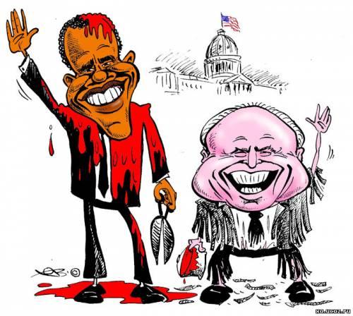 Барак Обама и Джон МакКейн